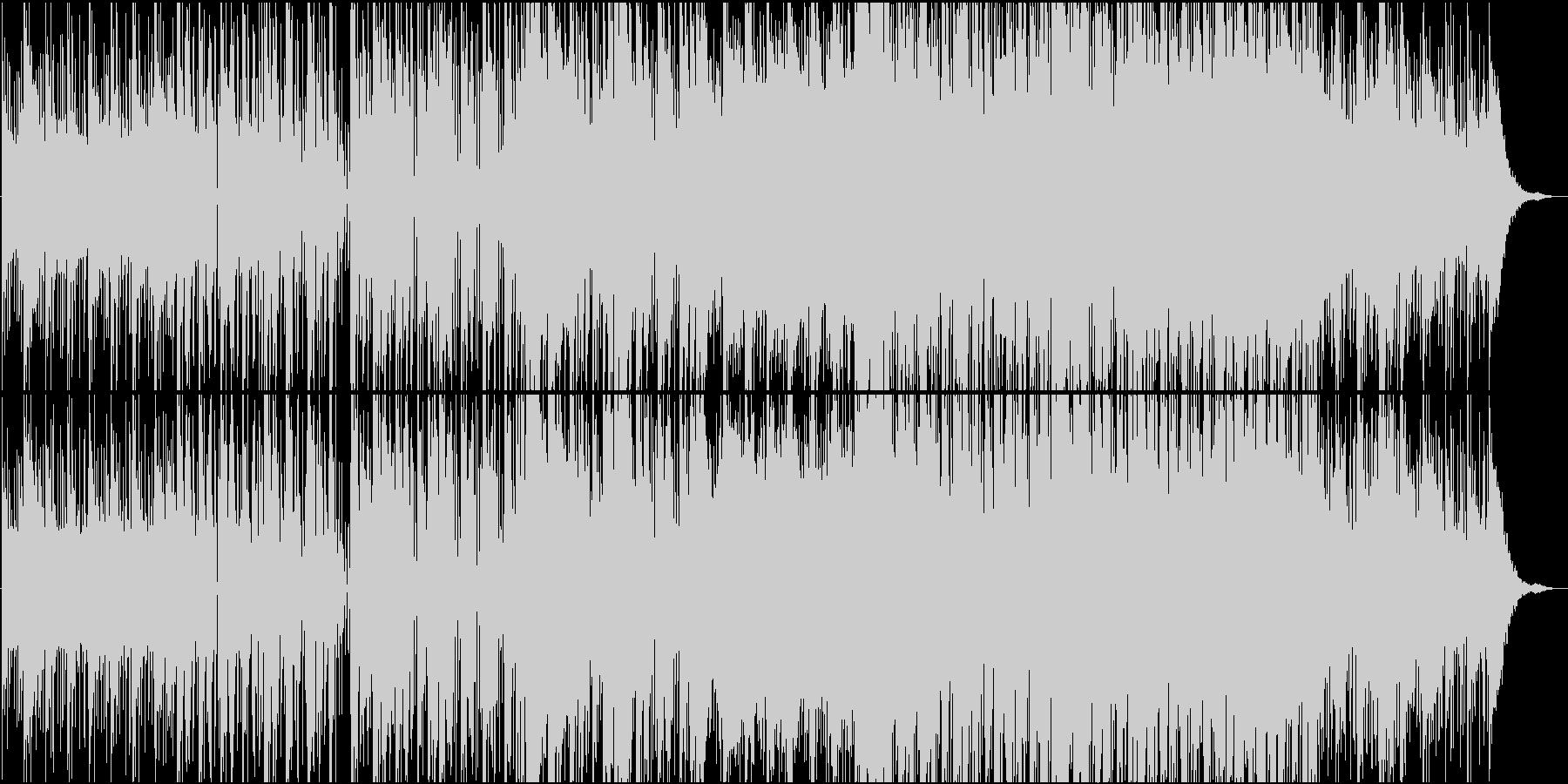 ダウンテンポの滑らかなジャズトラックの未再生の波形