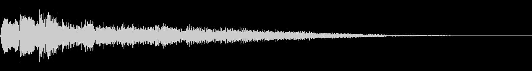 起動音 9の未再生の波形