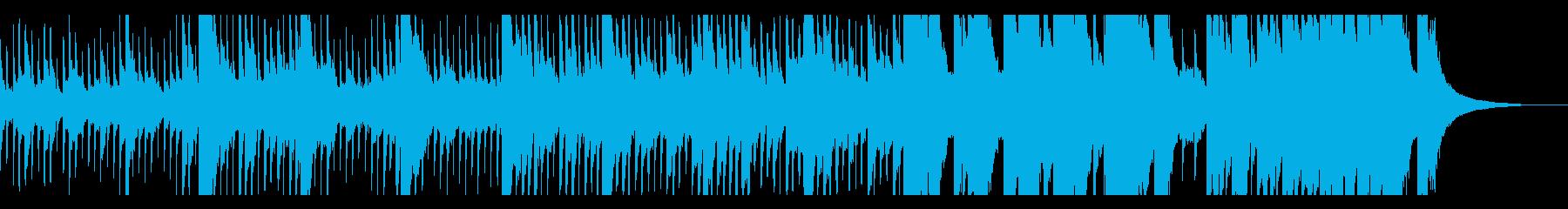 アナログ・ノイズ・レコード 優しいギターの再生済みの波形
