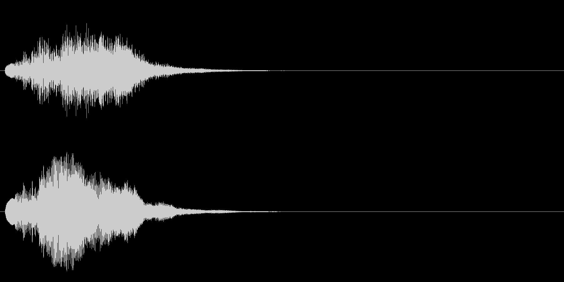 ハープ・上昇_7-2の未再生の波形
