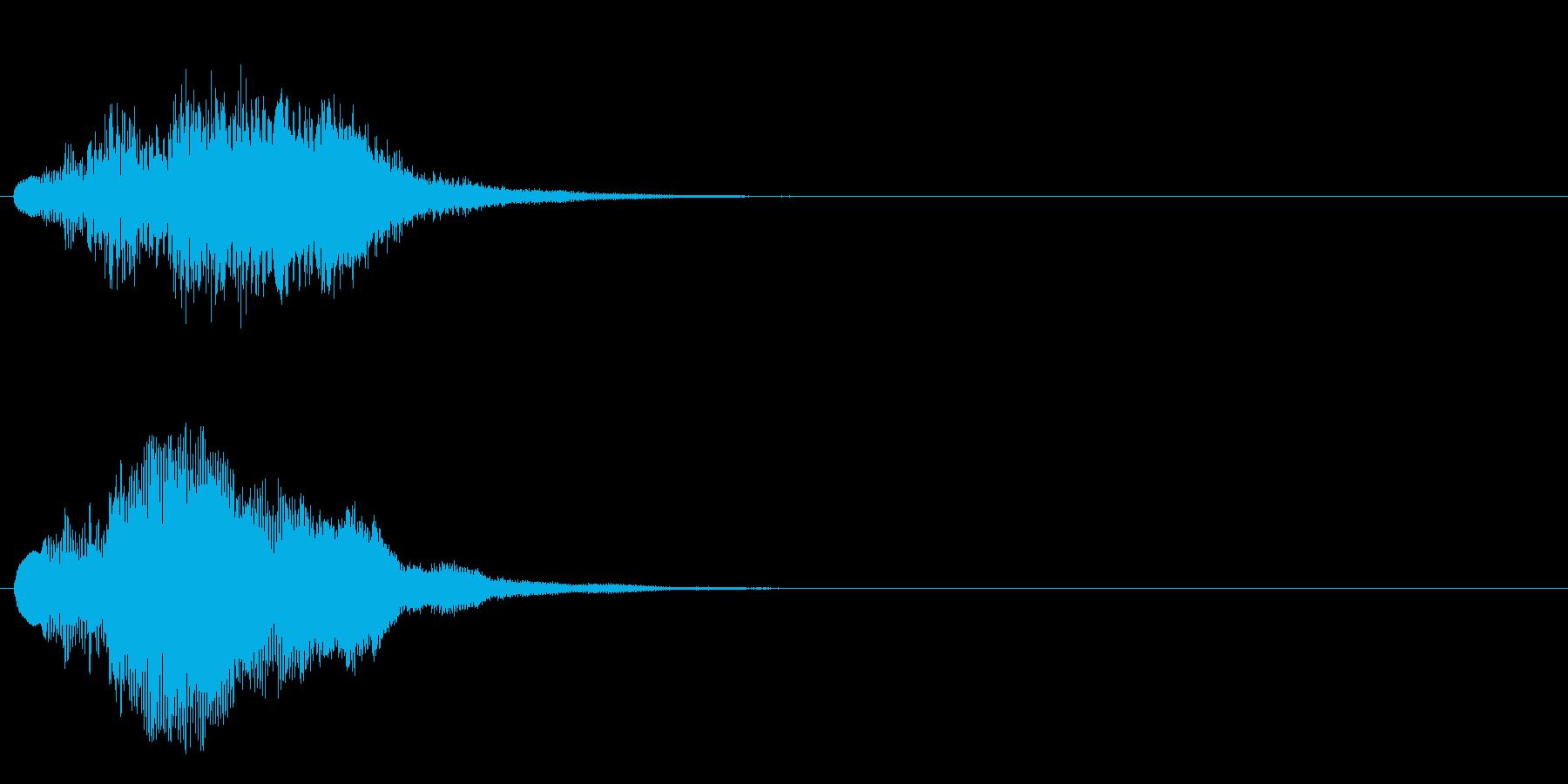 ハープ・上昇_7-2の再生済みの波形
