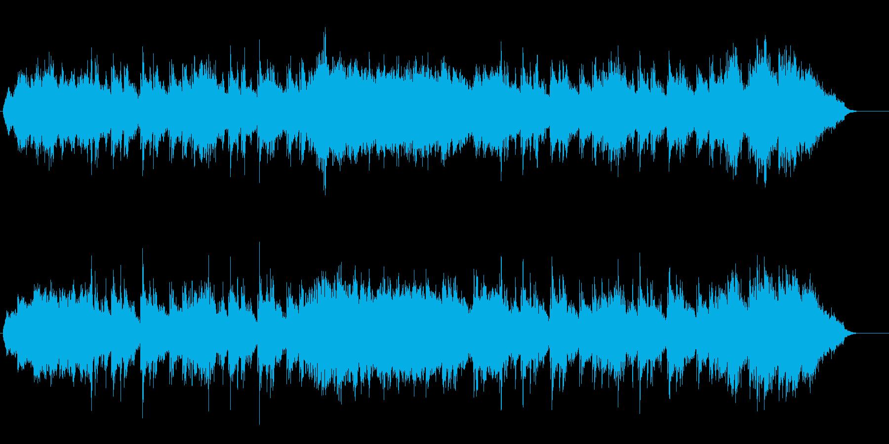 目眩をともなうイリュージョンの不思議音楽の再生済みの波形