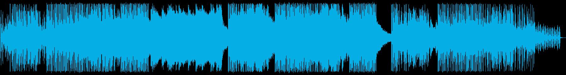 ゆったり刺激的な雰囲気のドラムン・ベースの再生済みの波形