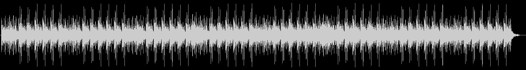 アンビエントバラードBGMの未再生の波形