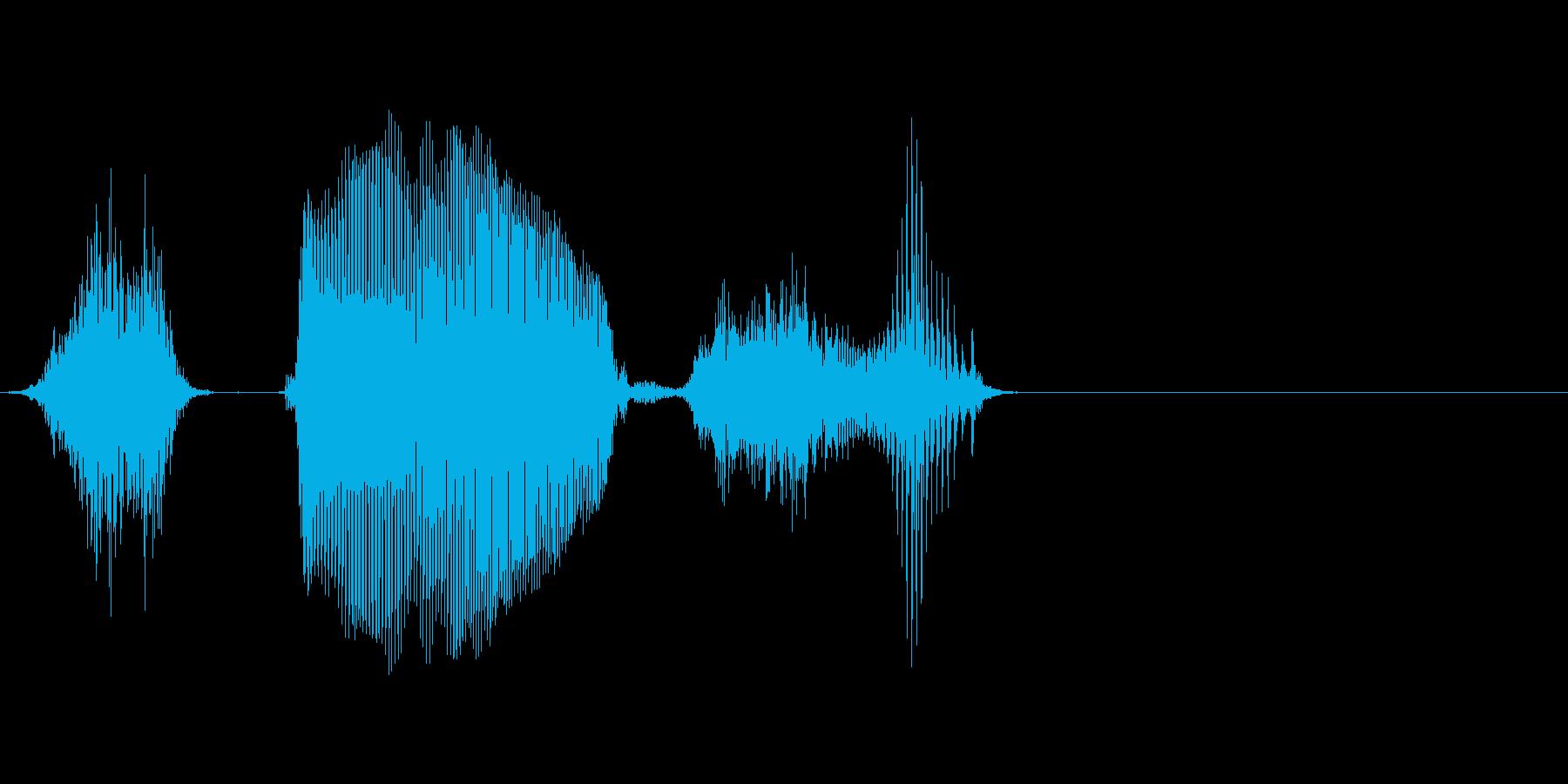ステージの再生済みの波形