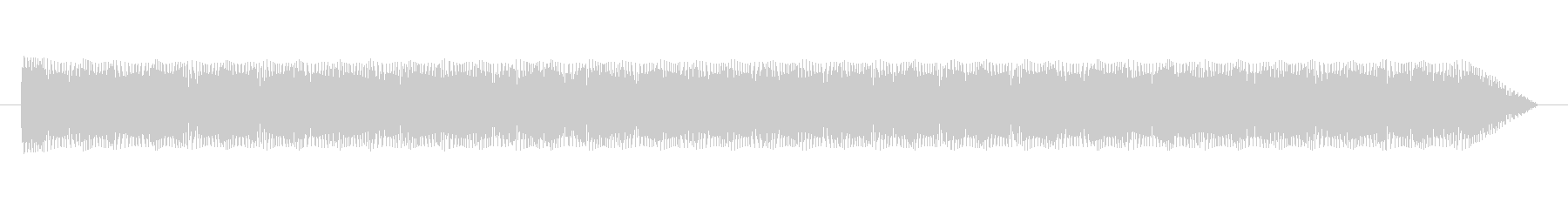 過酷なWarbleによるトーン変調の未再生の波形