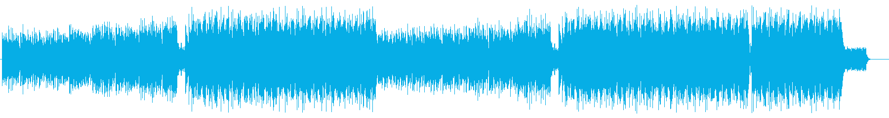 和風 爽やか Future Popの再生済みの波形