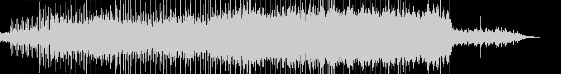 ピアノを空間的に使った打ち込み曲の未再生の波形