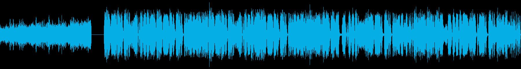 eスポーツ 大会 EDM ドロップ30秒の再生済みの波形