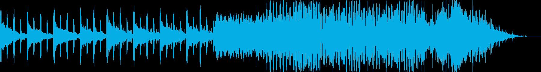 ビートの効いた都会的なBGMの再生済みの波形