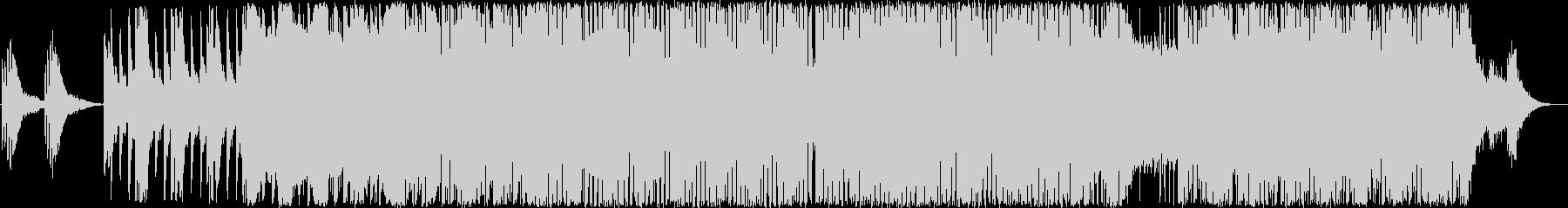 冒頭にME(ミュージック・エフェクト)…の未再生の波形