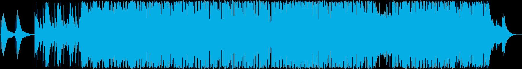 冒頭にME(ミュージック・エフェクト)…の再生済みの波形