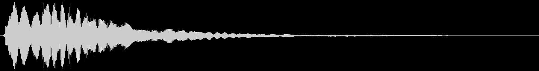 キラーン(コイン、ウィンク音など)の未再生の波形