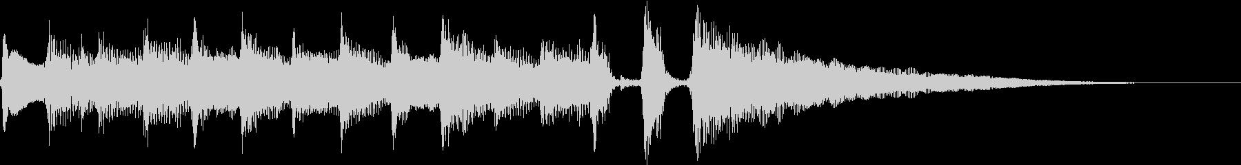ほのぼのアコギのエンディングパターンの未再生の波形