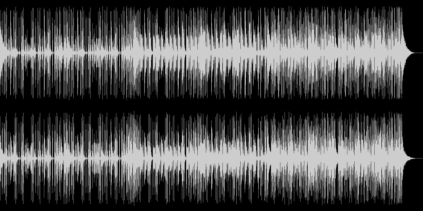 キックなし、133 BPMの未再生の波形