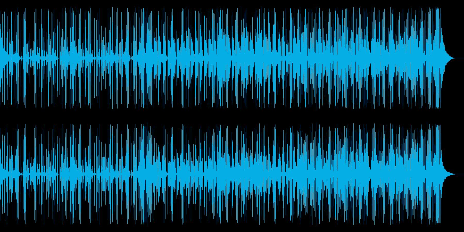 キックなし、133 BPMの再生済みの波形
