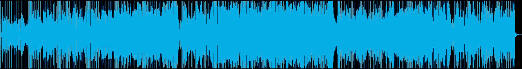 歩く速度のオルガン・ファンクの再生済みの波形