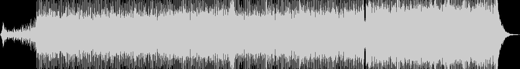 無機質でドライ・ダークなテクノ Bの未再生の波形