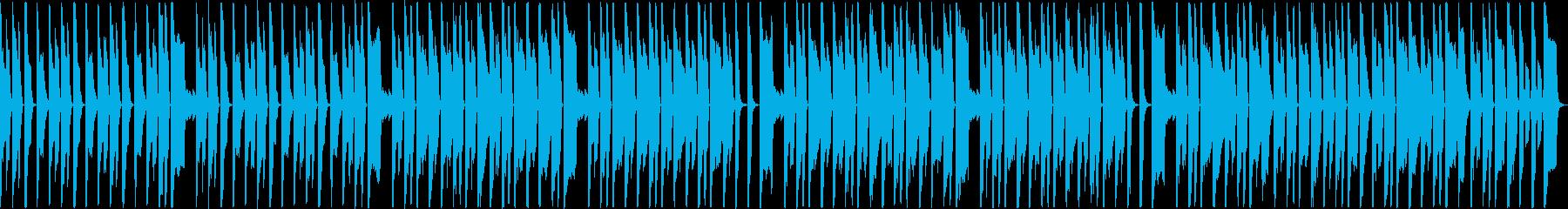 犬・猫・子供のほのぼのシンセループの再生済みの波形