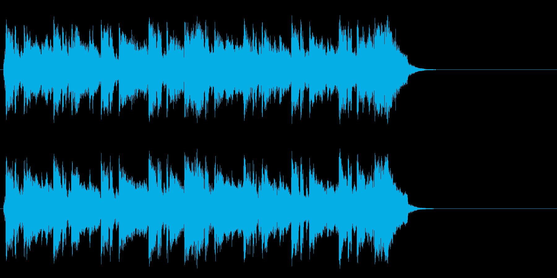 秋を感じる爽やかなポップ(イントロ)の再生済みの波形