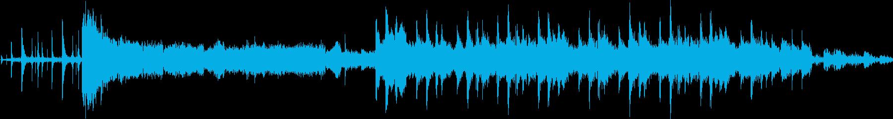 不気味にたたみかけるトランスサウンドの再生済みの波形