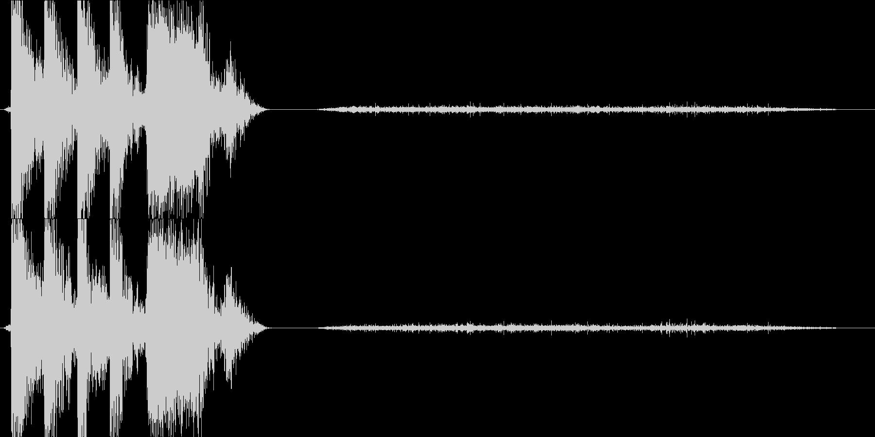 トランジション プロモーションパッ...の未再生の波形