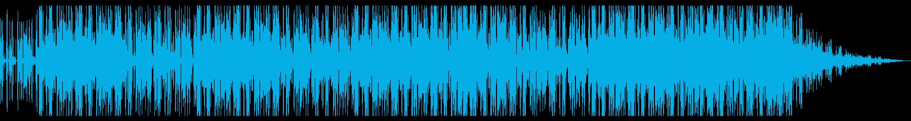 ミクスチャーサンバソウルの再生済みの波形