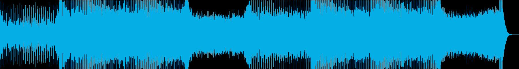アジアン/EDM/明るいPOPの再生済みの波形
