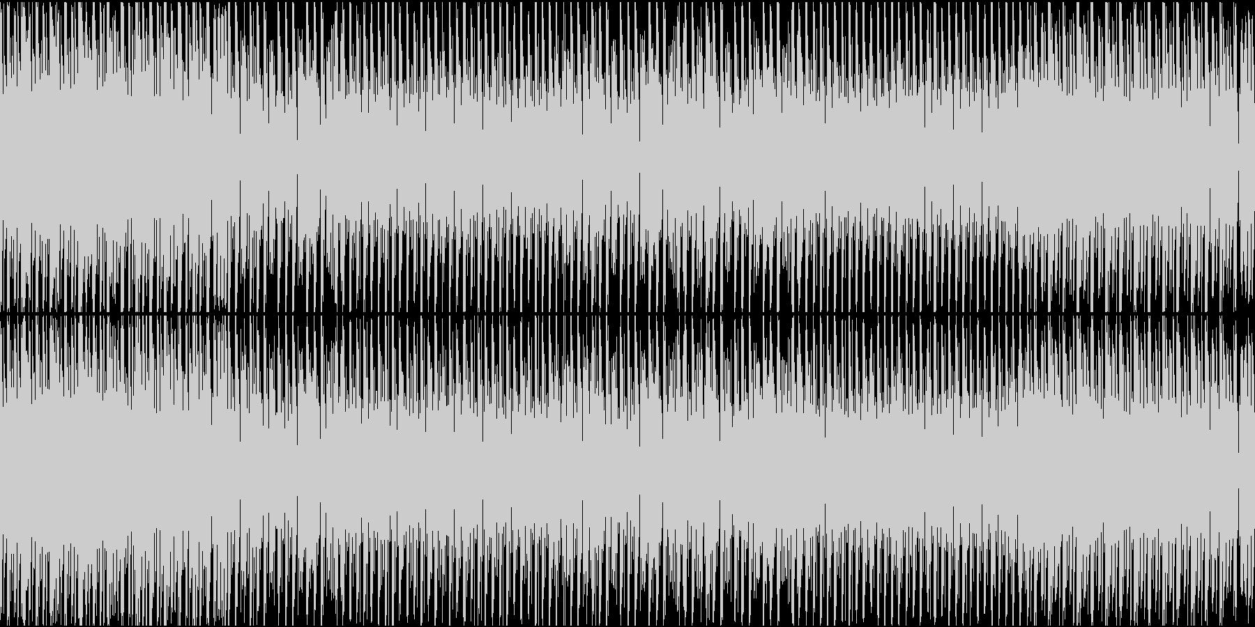 チップチューンでラテン系ループ、夏、海。の未再生の波形