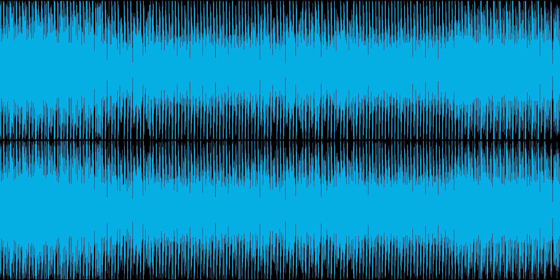 チップチューンでラテン系ループ、夏、海。の再生済みの波形