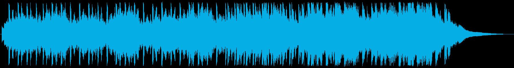 実験的な 緊張感 暗い ホラー エ...の再生済みの波形