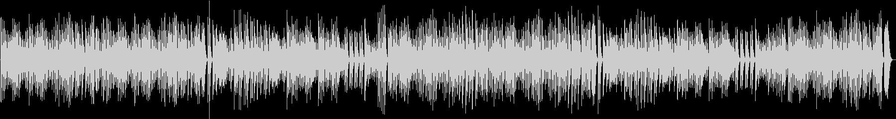 元気でワンパクなワクワクするピアノBGMの未再生の波形