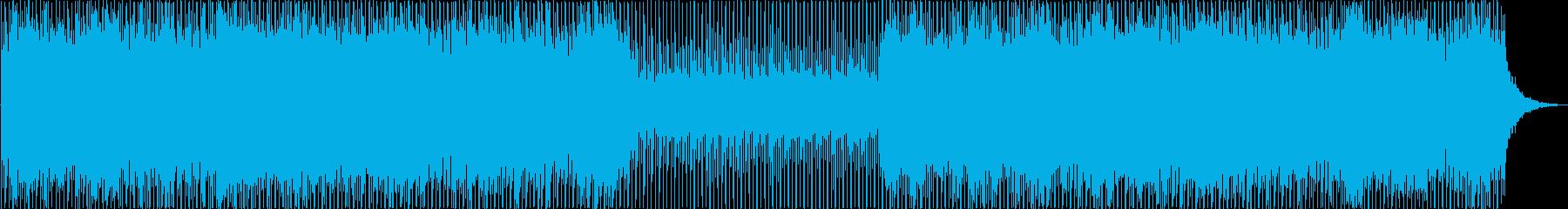 爽やかで明るいポップスの再生済みの波形