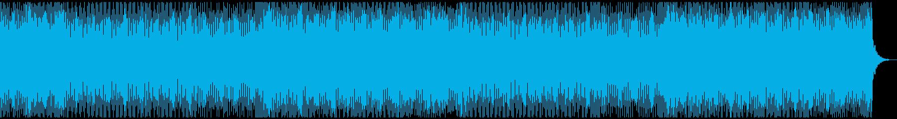ライブでのSEなどに使えるポップなBGMの再生済みの波形