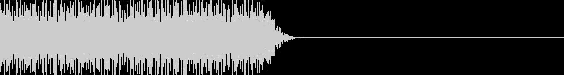 打撃音 連打 パンチ キック01 (長)の未再生の波形