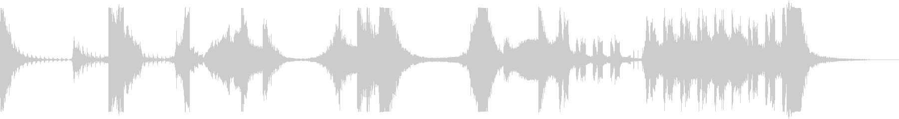 メタルヒット、メタルスウィッシュ、...の未再生の波形