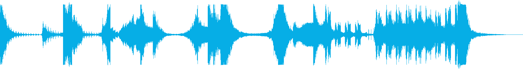 メタルヒット、メタルスウィッシュ、...の再生済みの波形