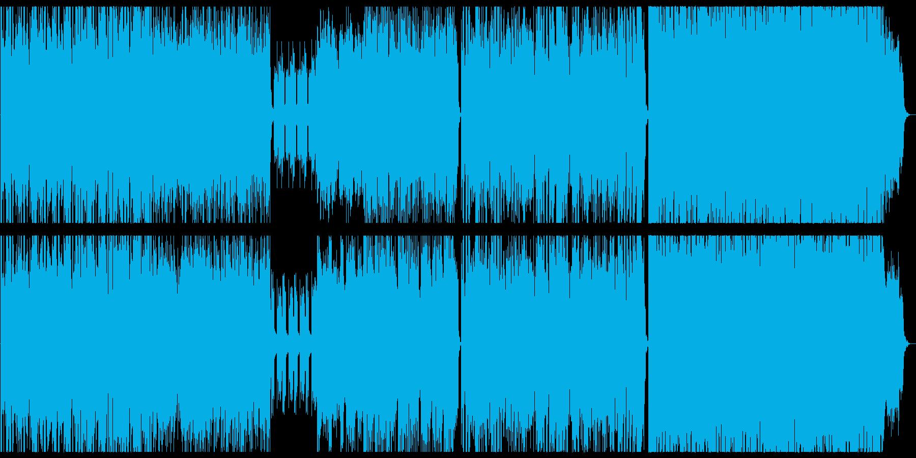 和風音階エレクトロニカ 明るめ軽快の再生済みの波形