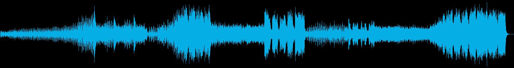 『冬』 第1楽章  「四季」よりの再生済みの波形