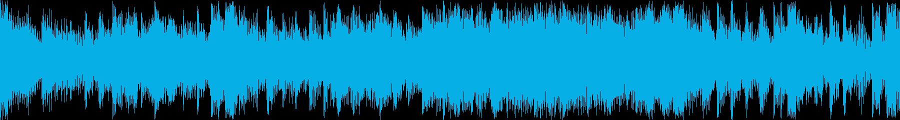 和を感じさせる緊迫感(Loop)の再生済みの波形