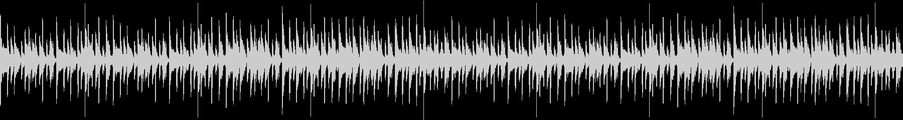 ノリの良いアーバンテイストポップループの未再生の波形
