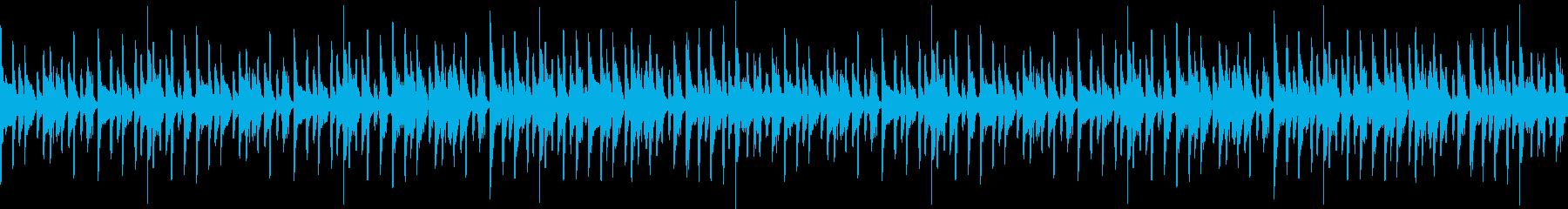 ノリの良いアーバンテイストポップループの再生済みの波形
