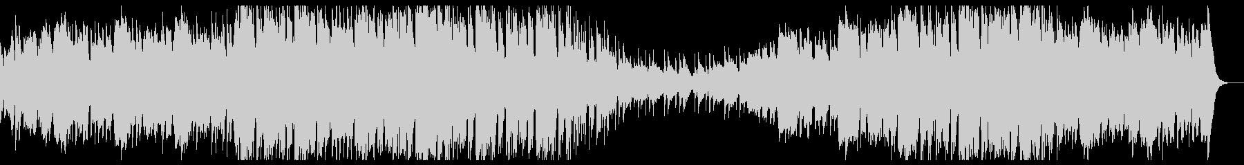 煌びやかな音色でゆったりテンポ感のBGMの未再生の波形