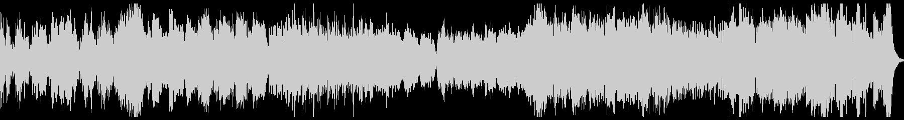 正統派オーケストラ / 前向き / PVの未再生の波形
