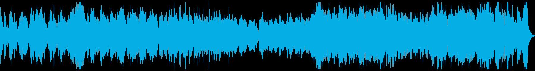 正統派オーケストラ / 前向き / PVの再生済みの波形