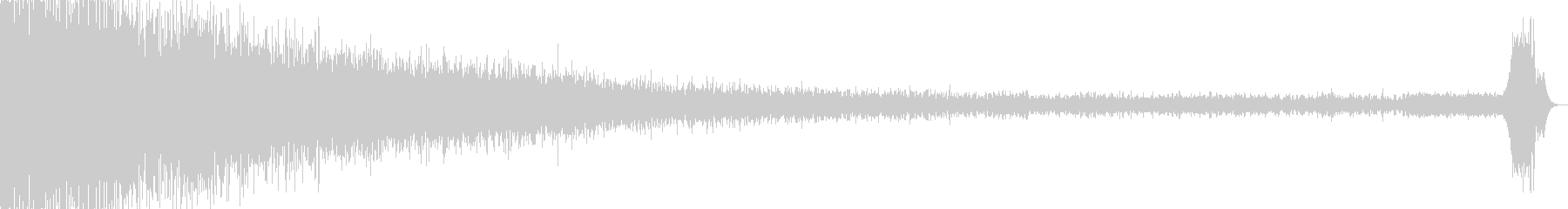 【電子音】 SF デジタルFX 17の未再生の波形