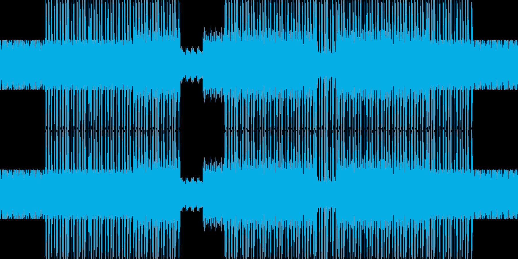 電子。部族革命マシン。の再生済みの波形
