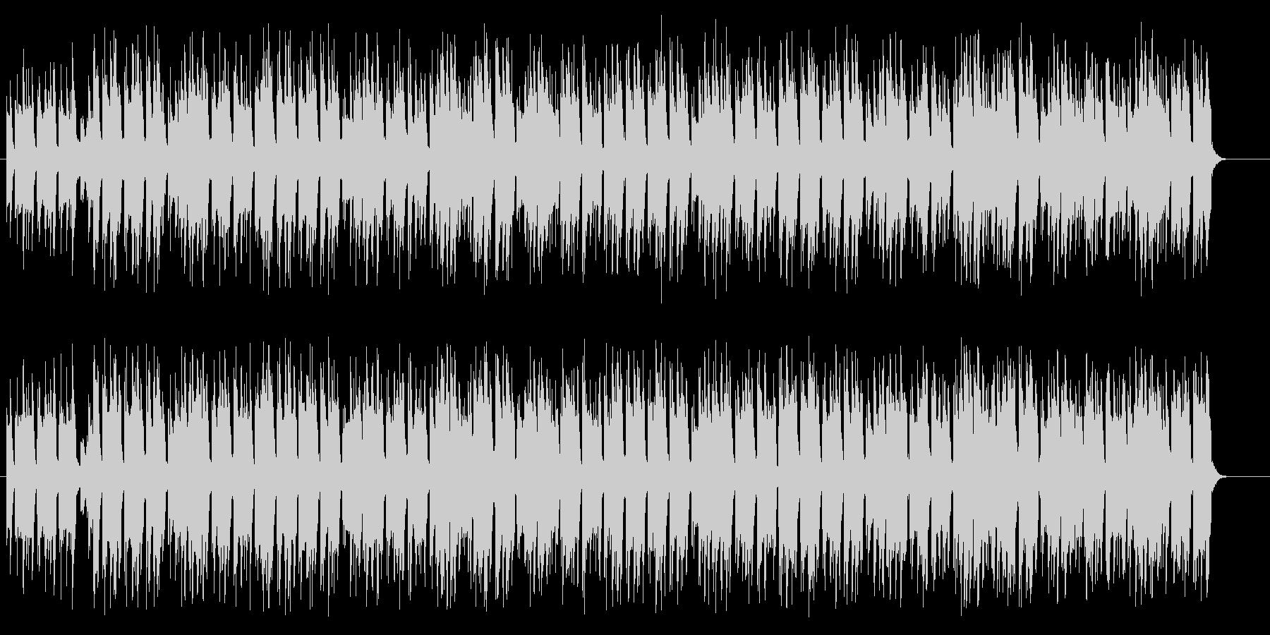 リズミカルな60年代ポピュラー音楽の未再生の波形