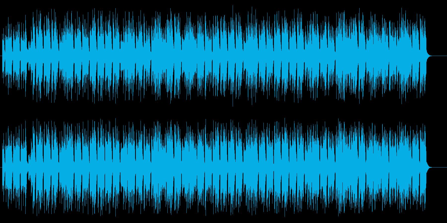 リズミカルな60年代ポピュラー音楽の再生済みの波形