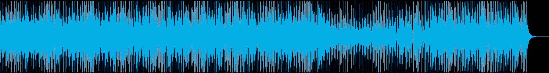 YouTube風かわいくしっかりサウンドの再生済みの波形